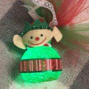 Holiday Lighted Elf